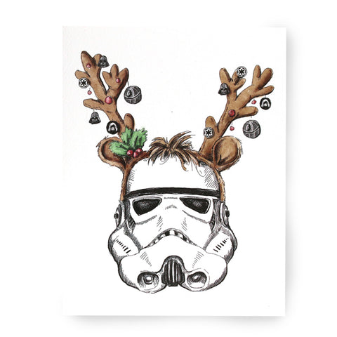 Storm Trooper Christmas Card - Box of 8