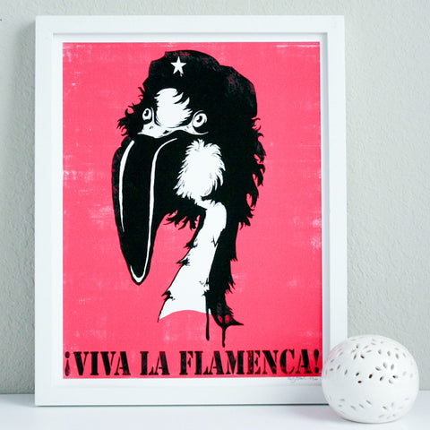 Viva La Flamenca Limited Edition Art Print 11x14