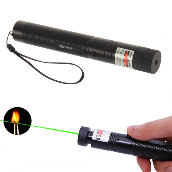 Cat Training Behaviour Aids Cat Green Laser Dot Pointer 303 Laser Pen Presenter Remote Light No Battery 5mW 532nm Led Toy Game