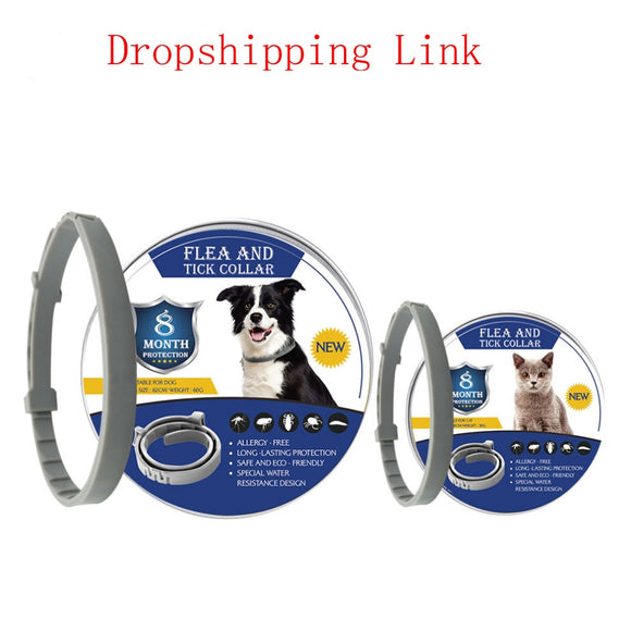 Dropshipping Bayer Seresto 8 Month Flea & Tick Prevention Collar for Cats Mosquitoes Repellent Insect Control Collar Mosquitoes