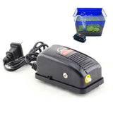 New 3W Super Silent Adjustable Aquarium Air Pump Fish Tank Oxygen Air Pump XT