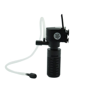 Mini 3 in 1 Multi-function Aquarium Purifier Water High Quality Fish Tank Filter 3W 220~240V 50Hz EU Plug FA009