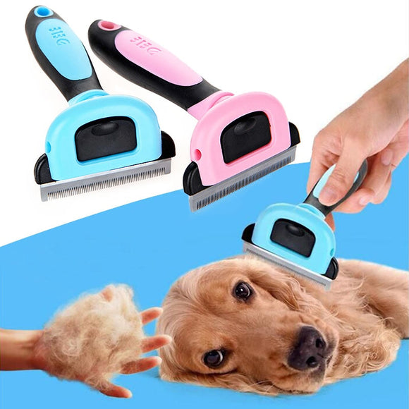1PC Hot New Dog Hair Comb Cat Trimmer Without Electricity Pet Grooming Brush Puppy Kitten Hair Knife