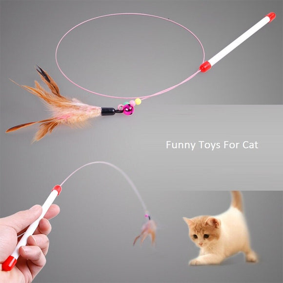 Feather Rop Cat Training Tools Funny Toys For Cat Training Supplies Cat Pet Kittens Interactive Interesting Toys Pet Product