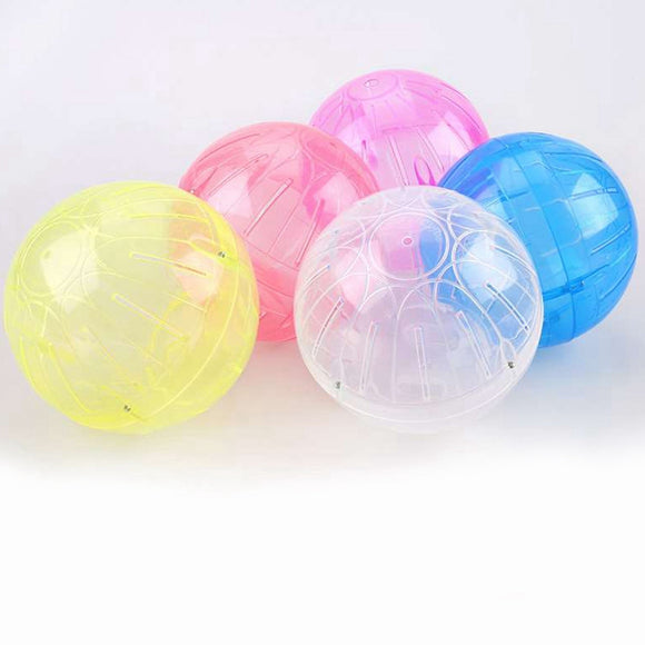 Small Pet Rodent Mice Jogging Hamster Ball Gerbil Rat Play Toy Rabbit Exercise Running Fitness Ball