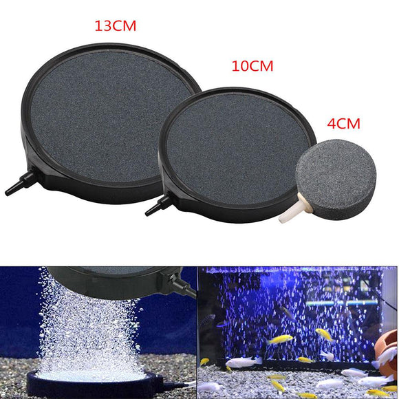Adeeing Bubble Disk Air Stone Aerator for Aquarium Fish Tank Pond Oxygen Pump