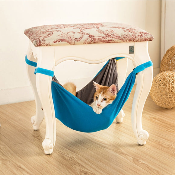 Hanging Cat Bed Mat Soft Cats Hammock For Cattery Pet Cage Bed Cover Cushion Rest Cat House For Small Puppy Cat kitten house 42