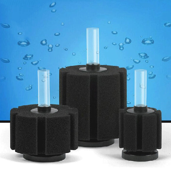 1pc Aquarium Filter Fish Tank Air Pump Skimmer Biochemical Sponge Filter Aquarium Filtration Filter Aquatic Pets Fish Products