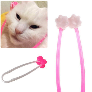 1pcs 12cm Cat Massage Tool Cat Thin Face Massager Feet Leg Massager Health Care Grooming Tool for Cat Supplies Pets Products