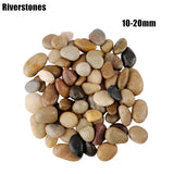 BarkMeow 300g Bloodstone Riverstones Stone Aquarium Substrate Fish Natural Tank Bottom Sand Landscaping Decorate BMDS08