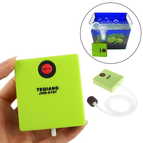 Extra Strong Dry Battery Mini Small Oxygen Pump Aquarium Outdoor Portable Fishing Oxygen Machine