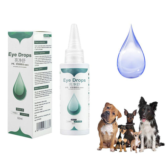 Pet Eye Care Essence Irritation Relief Cleaning Eye Wash Eye Drop Health Care Kill Virus Liquid For Pet Dog Puppy Cat Supplies