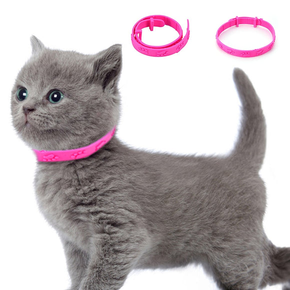 Anti Flea Cat Collar Pet Dog Puppy Cats Kitten Outdoor Mosquito Repellent Neck Strap Mite Tick Adjustable CollarPet Supplies