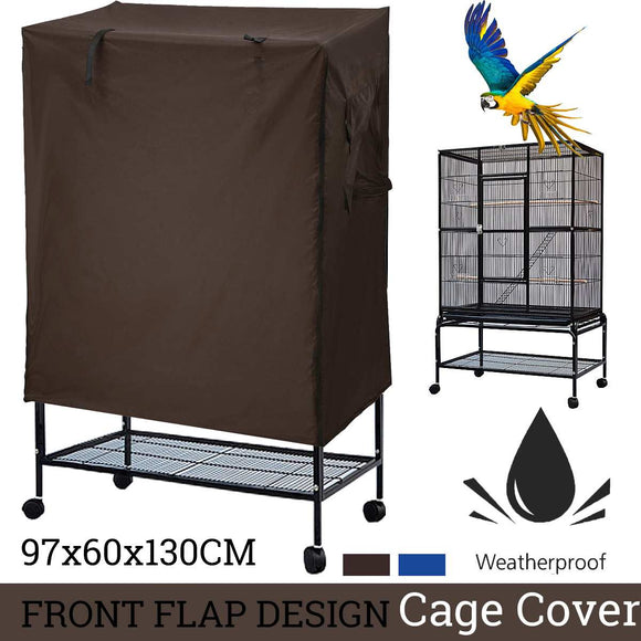 97x60x130CM Universal sunshade Bird Cage Cover Breathable dustproof Bird Parrot Nests Cover Light proof Cage Cover Bird Supplies