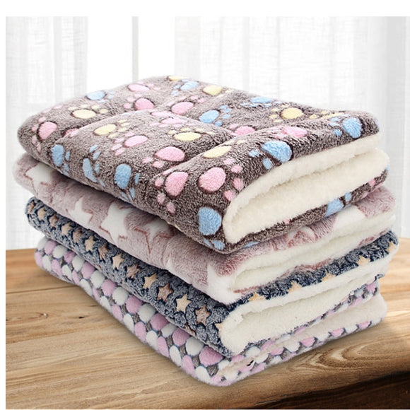 Super Soft Pet Bed Flannel Velvet Plus PP Cotton Dog Cat Cushion Deep Sleep Big Dog Kennel for Puppy Kitten Bed 6Sizes 8 colors