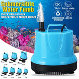7/15/20/25/35/55/95W Submersible Water Pump 550-4500L/H 220-240V Aquarium Fish Pond Tank Spout Marin Temperature Control Clean
