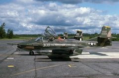 01308 Cessna A-37B, New York ANG, Syracuse 1977