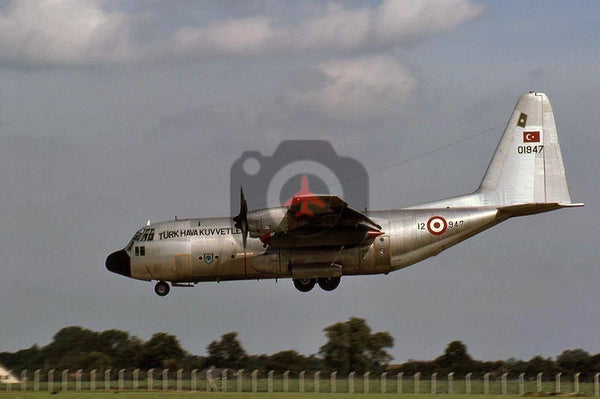 01947 Lockheed C-130E, Turkish AF, 1987