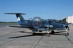 0744(4-F-43) Beech King Air 200, Argentine Navy, Punta Indio 2005