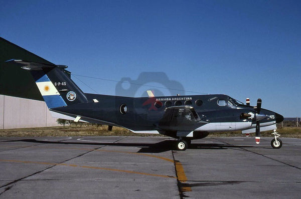 0746(6-P-45) Beech King Air 200, Argentine Navy, Trelew 2005