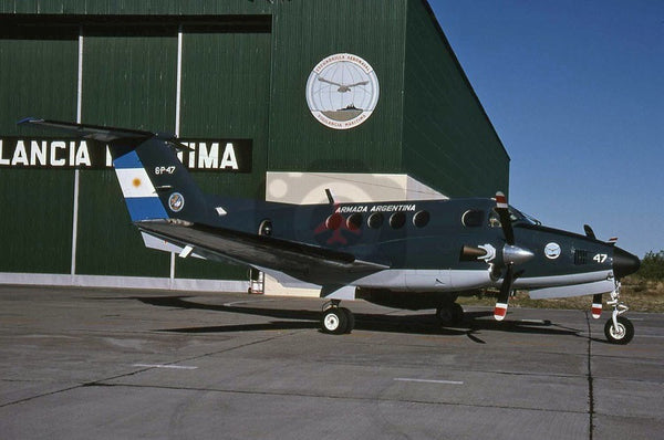 0748(6-P-47) Beech  King Air 200, Argentine Navy, Trelew 2005