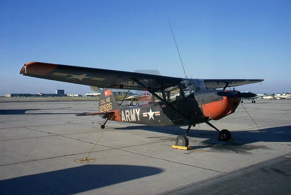12826 Cessna L-19A, California NG, Long Beach 1972