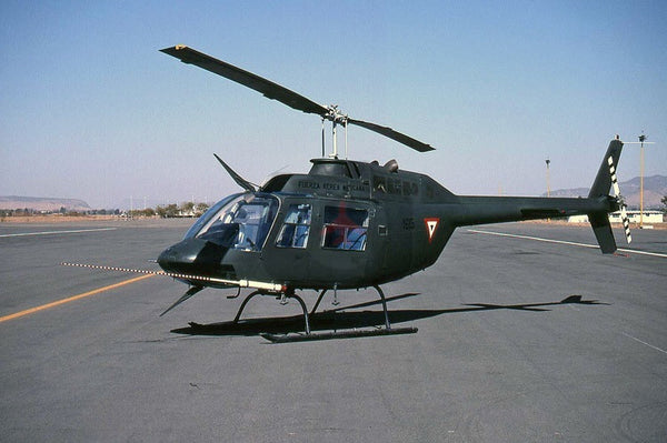 1615 Bell 206B, Mexican AF, Zapopan 2000
