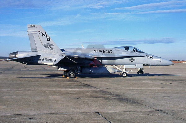 162453(MB206) FA-18A, USMC(VMFA-142), Washington 2006