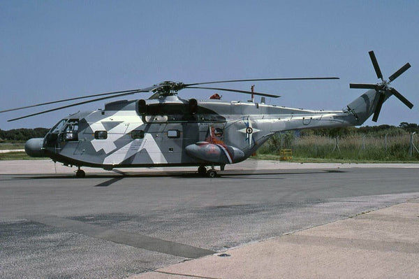 165 Aerospatiale SA.321G Super Frelon, French Navy, 2003, special colours