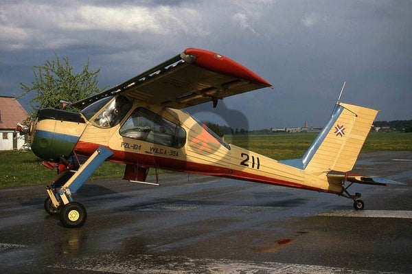 211 PZL-104 Wilga, Latvian National Guard, Cesis 1996