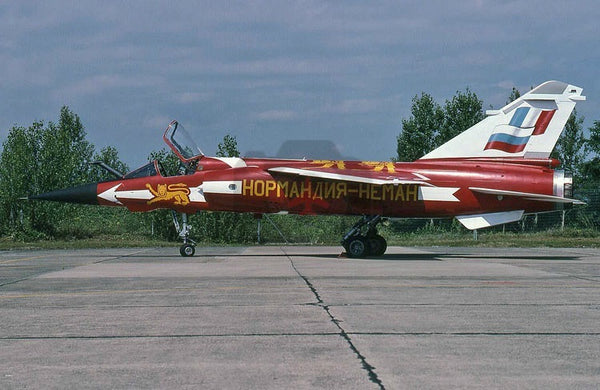 220 Dassault Mirage F1CT, French AF(EC02.030), 2002, special colours