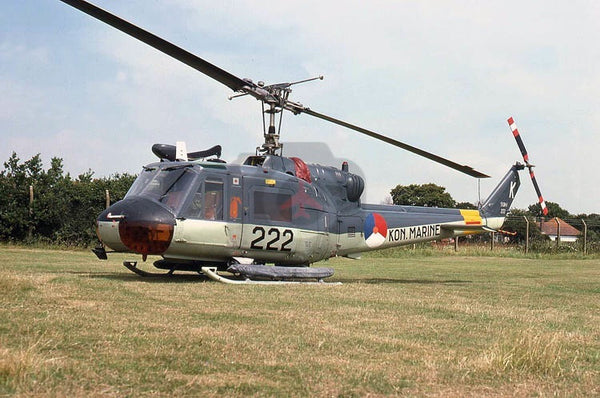 222(K) Bell UH-1, Dutch Navy, Lee-on-Solent 1977