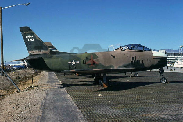 31351 North American QF-86H, USN(NWC), China Lake 1975