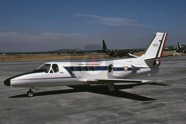 3929 Cessna Citation II, Mexican AF, Santa Lucia 2001