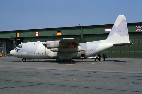 40504 Lockheed C-130E, USAF, Wildenrath 1978