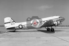 42-93791 Douglas C-47A, South Carolina ANG, Columbia 1966
