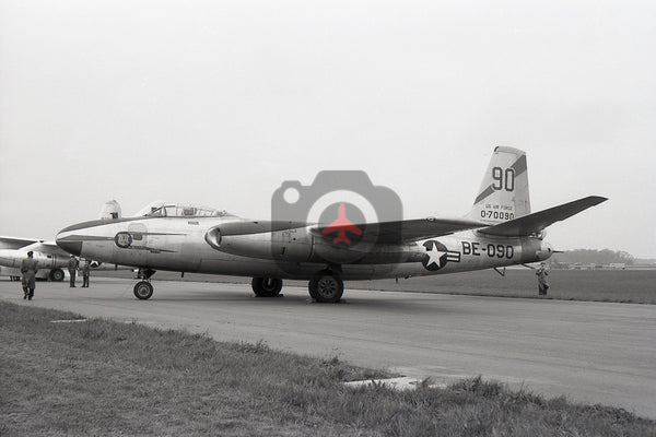 47-0090 (BE090) North American  B45A, USAF 47BW, Alconbury 1958
