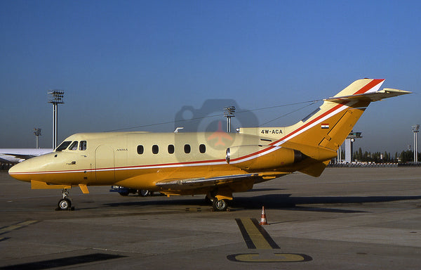 4W-ACA Hawker Siddeley HS125