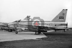 55-714(D) English Electric Lightning F.53, Saudi AF, Farnborough 1968