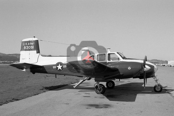 58-3091 Beech U-8D, US Army, San Francisco 1967