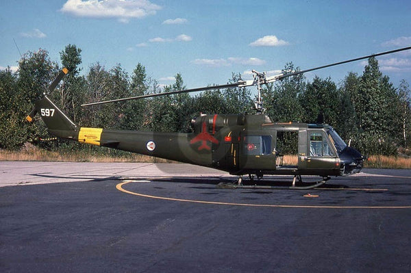 597 Bell UH-1B, Norwegian AF, Rygge