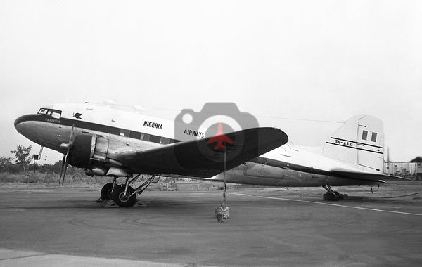 5N-AAK, Douglas DC-3, Nigeria Airways