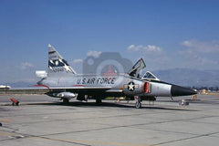 61401 Convair F-102A, California ANG, Ontario 1971