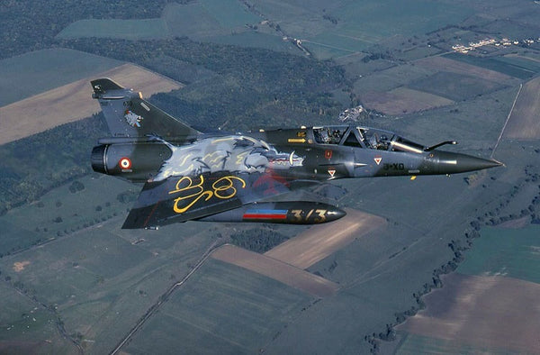 630(3-XD) Dassault Mirage 2000D, French AF(EC3.3), 2003, air-to-air