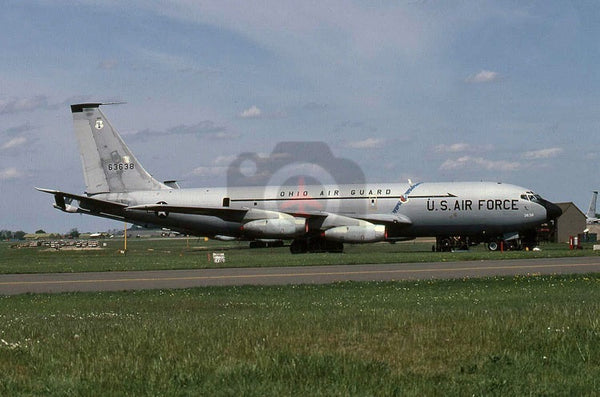 63638 Boeing KC-135A Ohio ANG, Mildenhall 1979