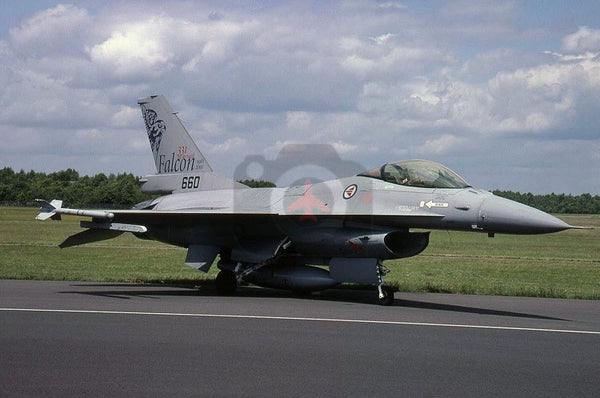 660 General Dynamics F-16A, Norwegian AF, 2003, special marks