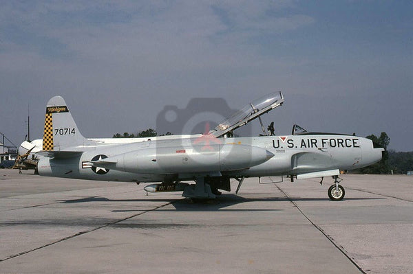70714 Lockheed T-33A, Michigan ANG, Dobbins 1981