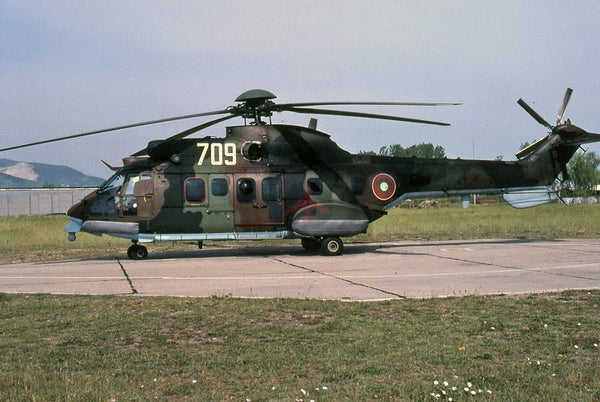 709 Aerospatiale AS.532AL, Bulgarian AF, 2010