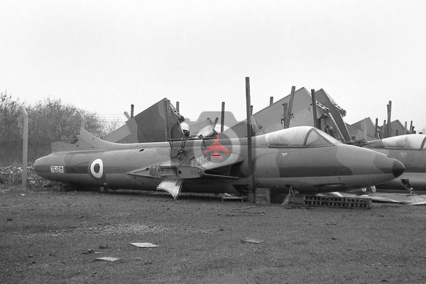 7512M Hawker Hunter F.2, RAF, Bicester 1963