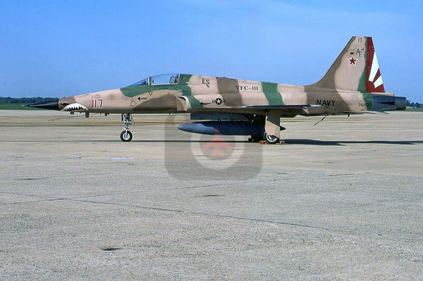 76-1533(AF117) Northrop F-5E USN(VFC-111), Washington 2011, sharksmouth